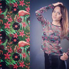 #kociara #printadress #spoonflower #textile #fabric design #print design #illustration #rockabilly #fashion | Flickr - Photo Sharing!