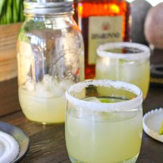 Amaretto Margaritas (with homemade sweet-and-sour mix) | Yes to Yolks