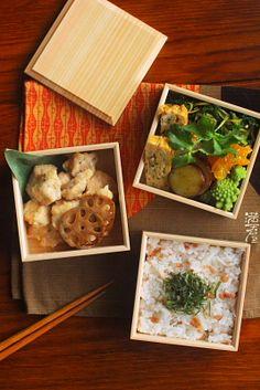 揚げ鶏の味噌漬け弁当   日本の片隅で作る、とある日のお弁当