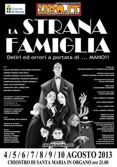 A Verona arriva La Famiglia Addams #NewsGC