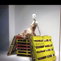 use of pallets. Even Missoni uses recycled elements from time to time