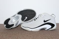 Nike Shox Vince Carter IV 2004 (White Black – Varsity Red)  1a00be43a
