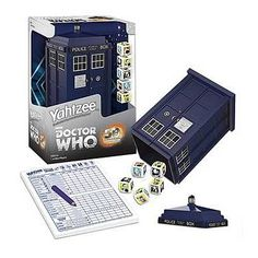 Doctor Who Yahtzee 50th Anniversary Collector's Edition Game    http://www.entertainmentearth.com/prodinfo.asp?number=USYZ042341=LY-012045602