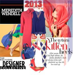 """""""Color Theory with Meredith Wendell"""" by designsbytraci on Polyvore"""