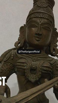 Metal Casting Molds, Vintage Home Decor, Vintage Art, Brass Statues, Bronze, Ganesha, Indian Art, Shiva, Buddha