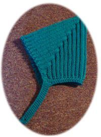 free knitting: Pattern for my Pointy Ribbed Pixie Helmet Hat