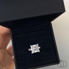 Princess Wedding Rings, Wedding Rings Solitaire, Princess Cut Rings, Beautiful Engagement Rings, Princess Cut Diamonds, Bridal Rings, Beautiful Wedding Rings, Wedding Rings Vintage, Vintage Engagement Rings