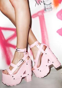 Y.R.U. NIGHTCALL PLATFORM HEELS $116.00 http://www.dollskill.com/nightcall-platform-heels.html