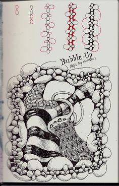 Bubble Up Steps, by Molossus Who Says Life Imitates Dooles aka Sandra Strait