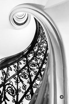 Stairs Photography by Christian Öser Spiral Staircase, Staircases, Cool Drawings, Tribal Tattoos, Stairs, Christian, Black And White, Crystals, Drawing Ideas