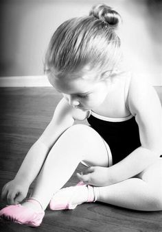 Can't wait for my little girl to start ballet