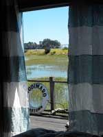 Nautical Details #Nautical #HomeInspo #BeachHouse Color Block Curtains, Striped Curtains, Linen Curtains, Striped Linen, Drapery, Curtain Rails, Seaside Style, Linen Sheets, St Barts