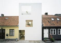 Regards et Maisons: Blanc