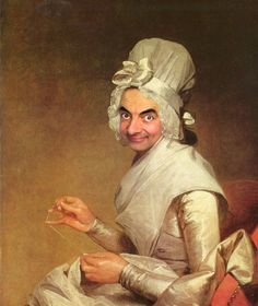 Gilbert Stuart Bean /Mr Bean Collection @ Rodney Pike Humorous Illustrator