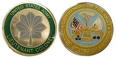 Army Lieutenant Colonel O5 Challenge Coin