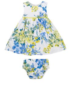 Floral Dress and Knickers Set,£16.00