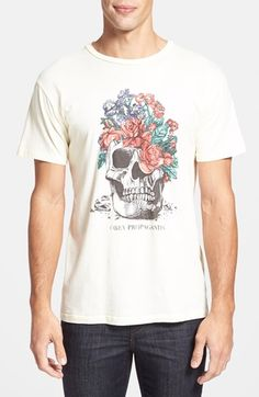 Make a loud expression in a subtle with Obey 'Bouquet' Graphic T-Shirt available at #Nordstrom