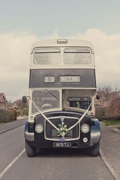 Wedding bus // Exceptional Weddings & Events