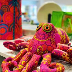 Baby He/'e octopus quilt by Kathy Tripp pattern and instructions