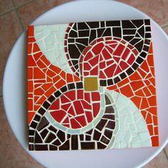 Dessous de plat emaux de briare et pate de verre