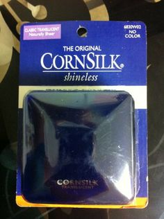 Sally Hansen the Original Cornsilk Classic Translucent Loose Powder. No Color ~ Billie - The Best face powder, there is!