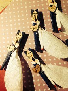 Wedding pegs!