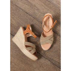 Sandales compensées @ LA FEE MARABOUTEE
