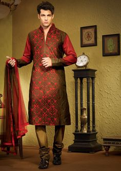 Red kurta for wedding