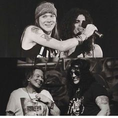 Axl and Slash❤️ They still perfect, don't they??