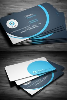 Blue Creative Business Card #businesscards#businesscards