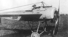 Fokker EII WNr 257.jpg  On aircraft that had front-mounted propellers, the field of gunfire was restricted by the propeller & other parts of the aircraft.This is one of the war-time problems for gun-mounting aircraft designs.The problem was solved in 1915 by A. Fokker, who designed an interrupter gear that prevented a machine-gun from firing when a propeller blade passed in front of the barrel.
