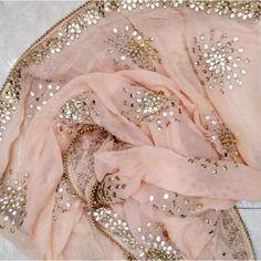 Discover thousands of images about Peach Gotta Patti Floral Chiffon Dupatta Chiffon Saree, Organza Saree, Saree Dress, Floral Chiffon, Silk Sarees, Sari, Pakistani Party Wear, Pakistani Dress Design, Pakistani Outfits