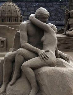 Another 15 Extraordinary Sand Sculptures (sand sculptures, beach sand sculptures) - ODDEE