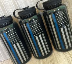 Thin Blue Line American Flag,Personalized Wide Mouth Water Bottle/Water intake/Water Bottle Mot Water Bottle Workout, Real Life Mermaids, Personalized Water Bottles, Glitter Vinyl, Thin Blue Lines, Mugs, Unique Jewelry, Motivational, Etsy