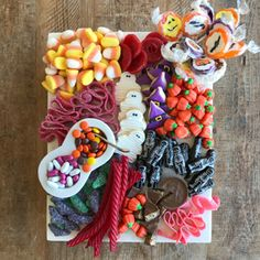 How to Style a Candy Platter Like a Cheese Board
