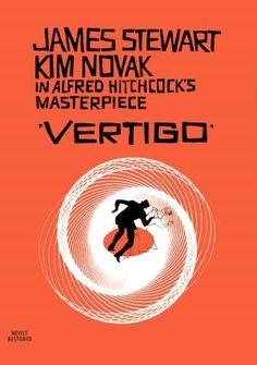 vertigo movie poster alfred hitchcock