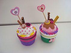 Cajita cupcake de gomaeva