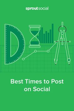 Knowing the best times to post on social media can make the difference between one click or 10 - find out more!