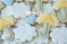 Mãe com Açúcar: Rain Cookies for baby shower