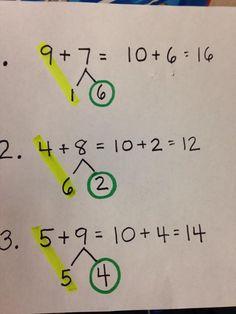Five For Friday: Number Bonds & Bar Models Math Classroom, Kindergarten Math, Teaching Math, Algebra, Eureka Math, Singapore Math, Primary Maths, Math Addition, Second Grade Math