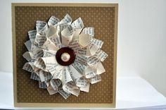 bookwreath by scrapinne - Cards and Paper Crafts at Splitcoaststampers