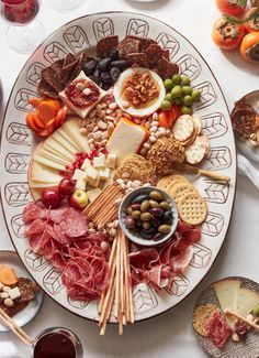 Winter Cheese Board from www.whatsgabycooking.com (@whatsgabycookin)