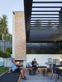 12 Pergola Patio Ideas that are perfect for garden lovers! Outdoor Fire, Outdoor Areas, Outdoor Rooms, Outdoor Living, Outdoor Decor, Patio Pergola, Outdoor Landscaping, Pergola Kits, Pergola Ideas