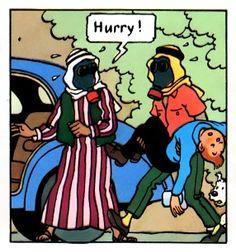 Tintin Land of Black Gold