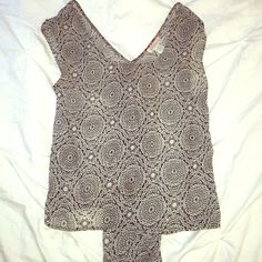 Gorgeous Urban Outfitters Tank In perfect condition. Grab this gorgeous tank with a draped back before it's gone!! Band of Gypsies Tops