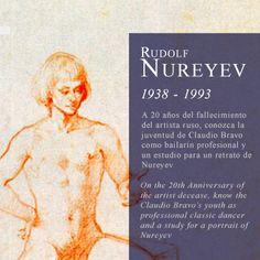 Discover the relationship between Claudio Bravo, Rudolf Nureyev and classic dance. Más información: www.claudiobravo.com/noticia_2013-05-31.html Read more: www.claudiobravo.com/en_news_2013-05-31.html
