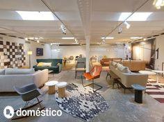 Interior design store Domestico Shop in Barcelona.