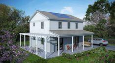 Deltec's Cypress Net-Zero Prefab Solar Home
