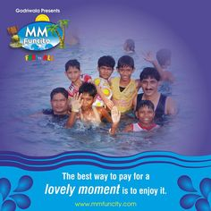 The best way to pay for a lovely moment is to enjoy it. Visit #MMFunCity