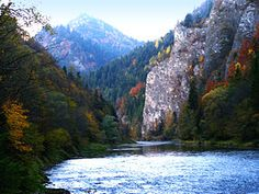 Dunajec River Gorge, High Tatras